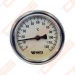 "Bimetalinis termometras WATTS F+R801 OR; Dn1/2""; tMaks.120°C"
