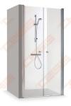 Dušo durys Brasta Glass Gerda 120x210 skaidrus stiklas