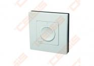 Danfoss Icon patalpos termostatas, 230V, pasukamu disku, ant sienos 86x86