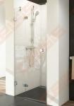 Varstomos dušo durys RAVAK BRILLIANT BSD2-90 A-R su chromuotom detalėm ir skaidriu stiklu