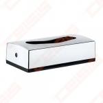 Popierinių nosinių dėžutė Bemeta Hotel, chromas, plastikas, 267 x 72 x 137 mm