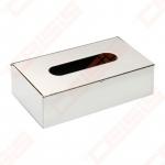 Popierinių nosinių dėžutė Bemeta Hotel, nerūdijančio plieno, 250 x 130 x 75 mm