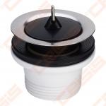 """Išleidimo ventilis VIEGA 1.1/2"""" x 70, 40 mm nerūdijančio plieno plautuvei"""