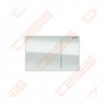 Vandens nuleidimo mygtukas Geberit Sigma70 baltas stiklas