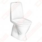WC pastatomas Gustavsberg Skandic 6400, 2/4L nuleidimas, vertikalus nuotakas su minkštu dangčiu