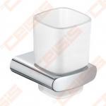 Stiklinė su sieniniu laikikliu KEUCO Elegance, chromas