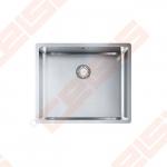 "Nerūdijančio plieno plautuvė FRANKE Box BXX 210/110-50 su 3.1 /2"" užkemšamu ventiliu"