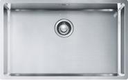 "Nerūdijančio plieno plautuvė FRANKE Box BXX 210/110-68 su  3.1 /2"" užkemšamu ventiliu"