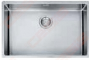 """Nerūdijančio plieno plautuvė FRANKE Box BXX 210/110-68 su  3.1 /2"""" integruotu  ventiliu, paspaudžamu mygtuku"""