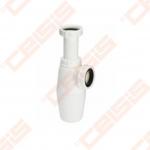 Praustuvo sifonas VIEGA su nusėsdintuvu be ventilio ir vamzdelio, 40 x 40