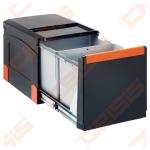 Šiukšliadėžė FRANKE Cube 41 1x18L,2x8L automat.