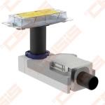 Dušo latakas Geberit CleanLine SH50-50 mm, H 90-200 mm.,d50, 0.8 l/s