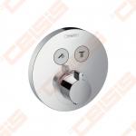 Dekoratyvinė dalis termostatiniam dušo maišytuvui HANSGROHE Select S dviems taškams