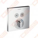 Dekoratyvinė dalis dušo maišytuvui HANSGROHE Select dviems taškams