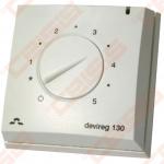 Termostatas Devireg 130, +5..+45°C, virštinkinis