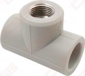 Trišakis FV-PLAST PPR (su metaliniu sriegiu)