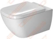 WC pakabinamas unitazas DURAVIT Happy D2 Rimless 4,5
