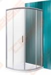 Pusapvalė dušo kabina SANIPRO HGR2/800 su dviejų elementų slankiojančiomis durimis