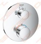 Dekorativinė dalis vonios potinkinio maišytuvo Grohe Grohterm, 2 funkcijos, apvali SmartControl