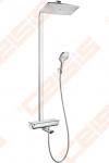 Dušo komplektas HANSGROHE Raindance Select E360 1jet su termostatiniu vonios maišytuvu