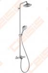Dušo komplektas HANSGROHE Raindance Select S 240 su termostatiniu vonios maišytuvu
