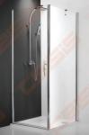 Šoninė dušo sienelė ROLTECHNIK HITECH HORIZON HBL-1000  su brilliant spalvos profiliu  ir skaidriu stiklu
