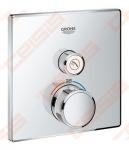 Dekoratyvinė dalis termostatiniam potinkiniam dušo maišytuvui GROHE Grohtherm