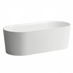Vonia LAUFEN VAL pastatoma, ovali, (kompozicinė medžiaga Sentec) 1600x750x520mm