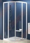 Pusapvalė dušo kabina RAVAK SUPERNOVA SKCP4-80 (radius 500)
