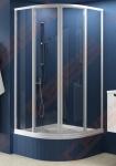 Žemesnė pusapvalė dušo kabina RAVAK SUPERNOVA SKCP4-90 Sabina (radius 500)