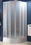 Pusapvalė dušo kabina RAVAK SUPERNOVA SKKP6-90 (radius 500)