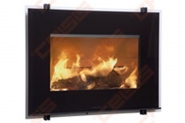 Plieninis židinio ugniakuras HWAM I 30/55s (841x619x470); 7kW