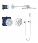 Termostatinė dušo sistema Grohe Grohtherm SmartControl Perfect su apvalia galva