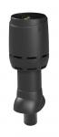 Ventiliacijos vamzdis su gaubtu FLOW VILPE 110P-IS-350 juodas
