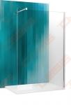 Dušo sienelė ROTH Walk Pro 1200 su brillant spalvos profiliu ir skaidriu stiklu