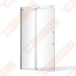 Dušo durys SANIPRO OBZD2/1200 brill/skaidrus