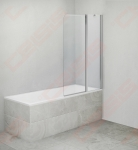 Vonios sienelė OBV2/1200 brillant/skaidrus