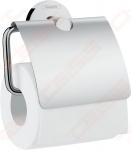 WC popieriaus laikiklis su dangteliu Hansgrohe Logis Universal
