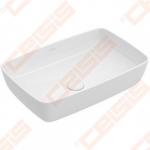 Praustuvas VILLEROY&BOCH Artis 580x380 mm be perpylimo angos su Ceramic plus danga