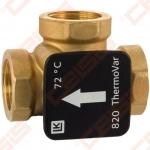 3-eigis termostatinis 61°C vožtuvas LK 820 (bronza)