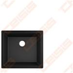 Plautuvė Hansgrohe S510-U450 45x50, juodas grafitas