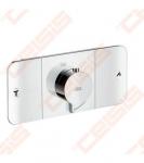 Dalis dekoratyvinė potinkiniam termostatiniam dušo maišytuvui HANSGROHE Axor One 2 taškų