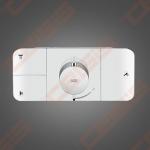 Dekoratyvinė dalis potinkiniam termostatiniam maišytuvui Hansgrohe Axor One 3 taškų