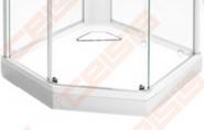 Apdailos plokštė dušo padėklui IDO Showerama 8-5, balta