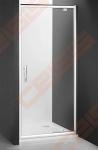 Varstomos dušo durys ROTH PROXIMA LINE PXDO1N/90, skirtos montuoti į nišą, su brillant spalvos profiliu ir šerkšnu padengtu stiklu