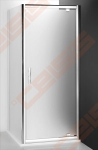 Šoninė dušo sienelė ROLTECHNIK PROXIMA LINE PXBN/100 durims PXDO1N ir  PXD2N su brillant spalvos profiliu