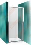 Dušo durys ROTH Lega Line LLDO1/90 su brillant spalvos profiliu ir skaidriu stiklu