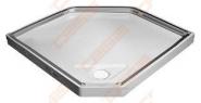 Dušo padėklas IDO  Showerama 10-5 90x90w, baltas