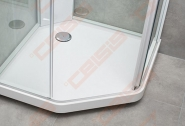 Dušo padėklas IDO  Showerama 10-5 100x100w, baltas