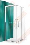 Varstomos dušo durys ROTH ECLUSIVE LINE ECS2L/800 blizgaus chromo (Brilliant) spalvos profilis + skaidrus (Transparent) stiklas
